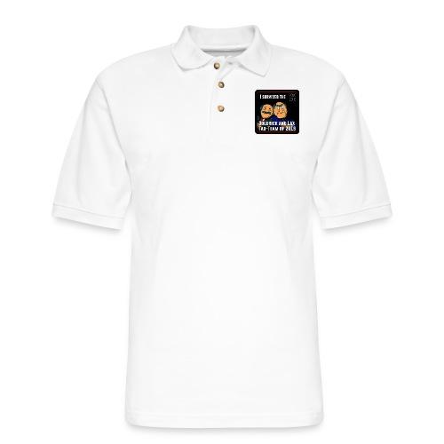 Goldrick and Lax Tag Team - Men's Pique Polo Shirt