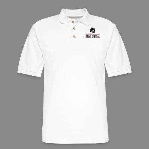 Team Natural FTW - Men's Pique Polo Shirt