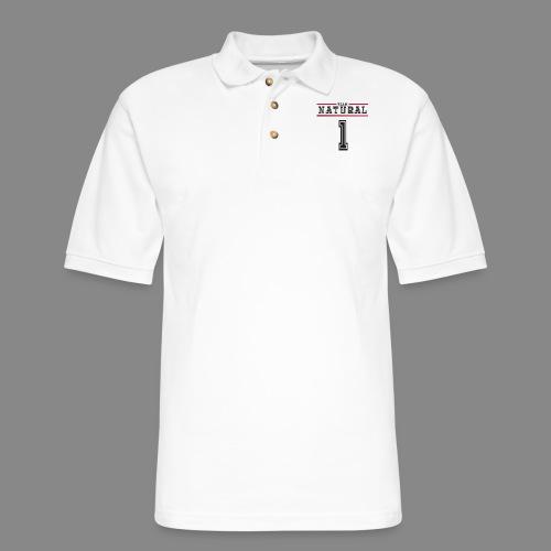 Team Natural 1 - Men's Pique Polo Shirt
