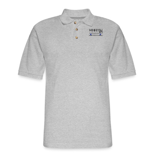 What in the BLUE MOON T-Shirt - Men's Pique Polo Shirt