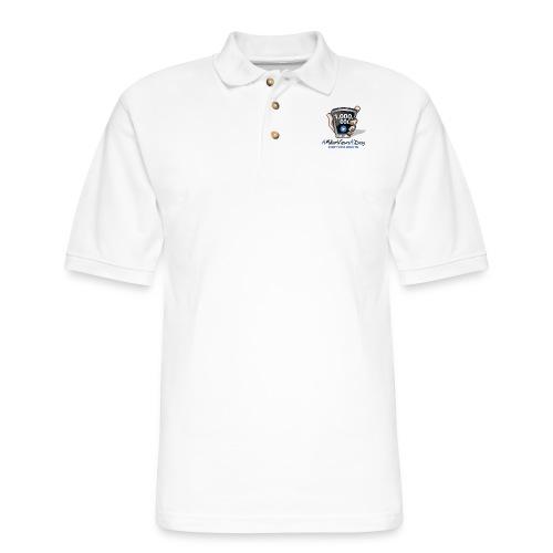 AMillionViewsADay - every view counts! - Men's Pique Polo Shirt