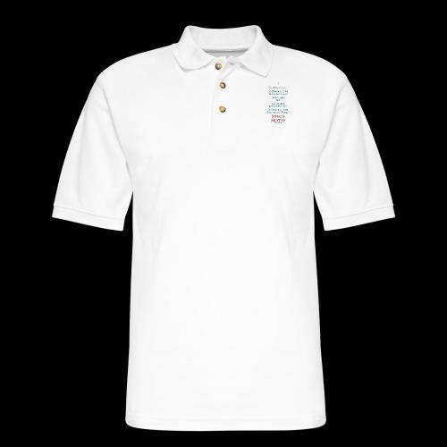 Survived... Whats Next? - Men's Pique Polo Shirt