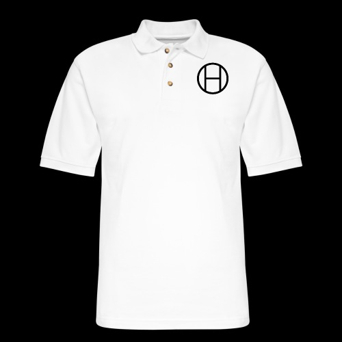 logo premium tee - Men's Pique Polo Shirt