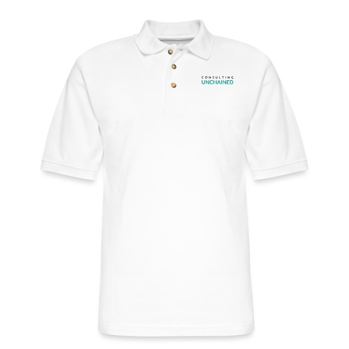 Consulting Unchained - Men's Pique Polo Shirt