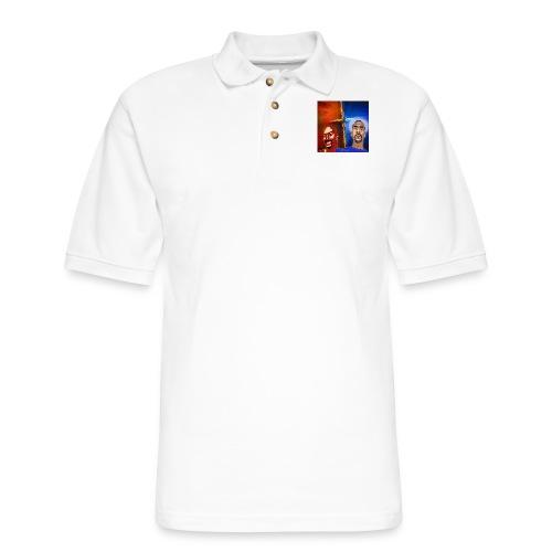pretty tony galaxy 7 edge case - Men's Pique Polo Shirt