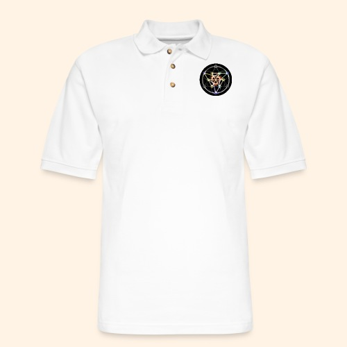 Classic Alchemical Cycle - Men's Pique Polo Shirt