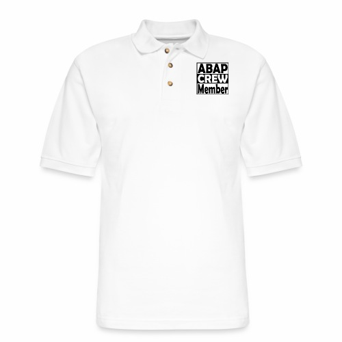 ABAPcrew - Men's Pique Polo Shirt