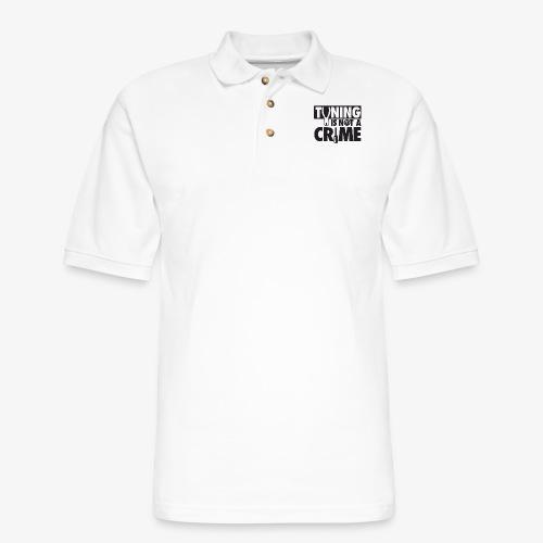 Tuning is not a crime - Men's Pique Polo Shirt