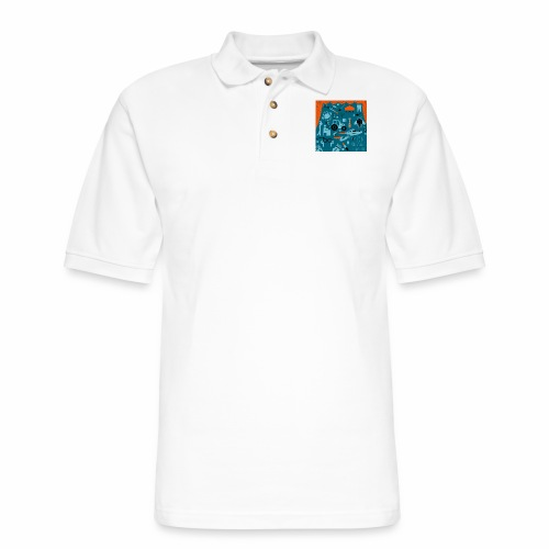 2017 Rant Street Film Fest - Men's Pique Polo Shirt