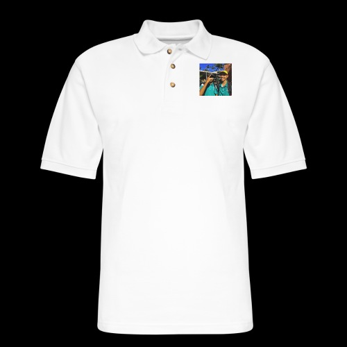 wasted youth. - Men's Pique Polo Shirt