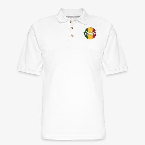 Uplift Rasta Basic // - Men's Pique Polo Shirt