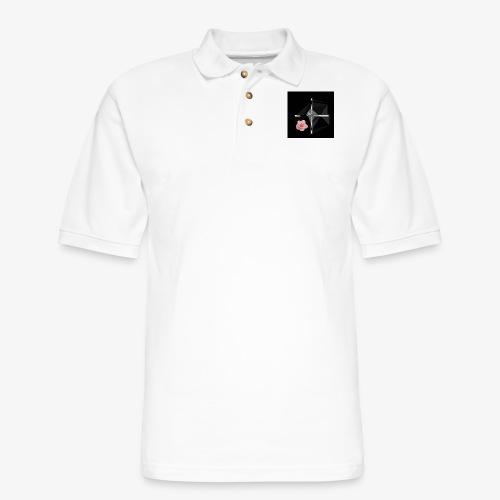 Roses and their thorns - Men's Pique Polo Shirt