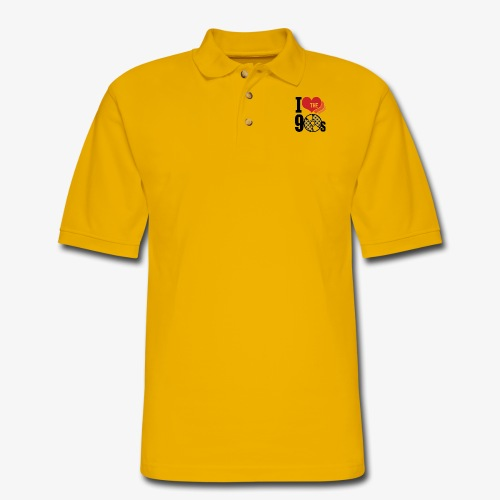 I love the 90s - Men's Pique Polo Shirt