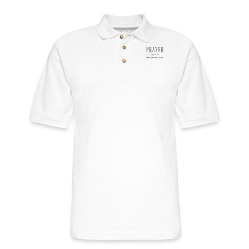 Prayer Warrior - Men's Pique Polo Shirt