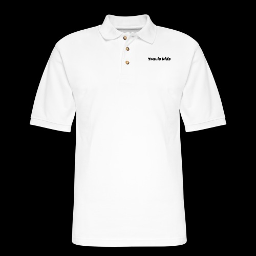 White shirt - Men's Pique Polo Shirt