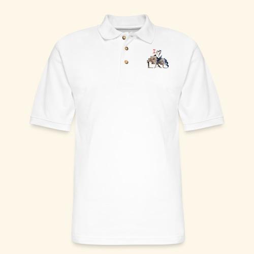 I love Lab - Men's Pique Polo Shirt