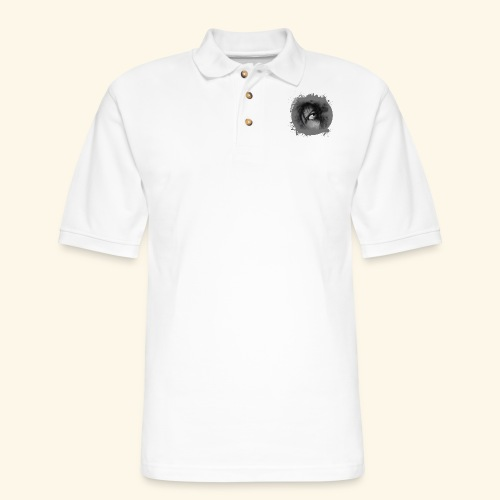 Regard sur le monde - Men's Pique Polo Shirt