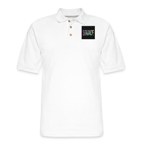 Savage Wear - Men's Pique Polo Shirt