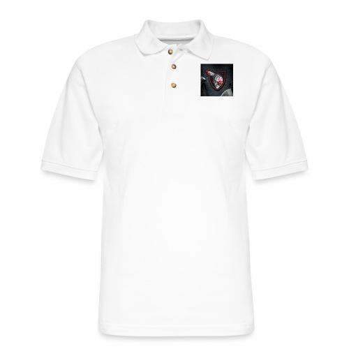 SavageRedHand - Men's Pique Polo Shirt