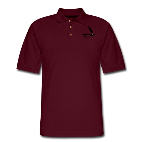 mightier - Men's Pique Polo Shirt