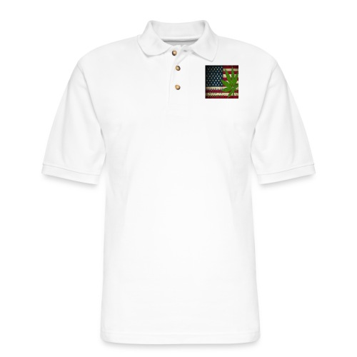 Political humor - Men's Pique Polo Shirt