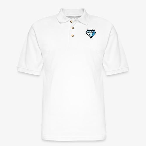 C. Productions Diamond Logo - Men's Pique Polo Shirt