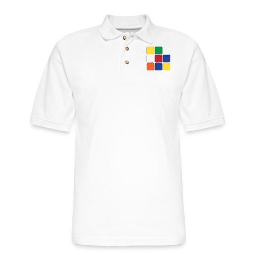 Cube - Men's Pique Polo Shirt