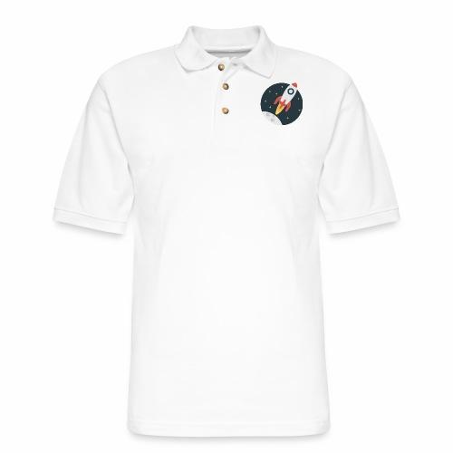 instant delivery icon - Men's Pique Polo Shirt