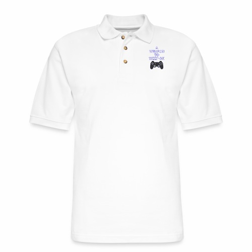 A Weapon to Weep On - Men's Pique Polo Shirt