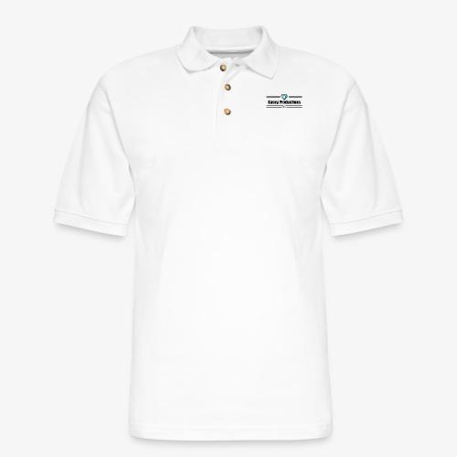 Black Casey Productions Design - Men's Pique Polo Shirt