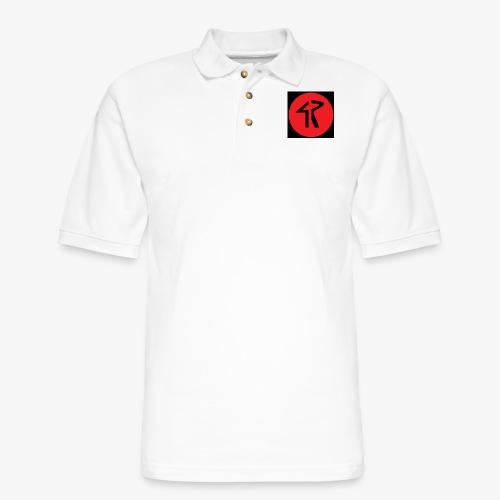 4R Logo - Men's Pique Polo Shirt