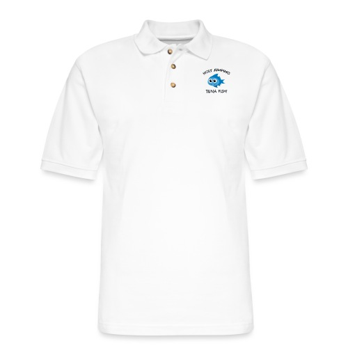 jumping tuna fish - Men's Pique Polo Shirt