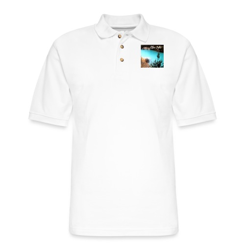 Tasmania Blue Lake - Men's Pique Polo Shirt