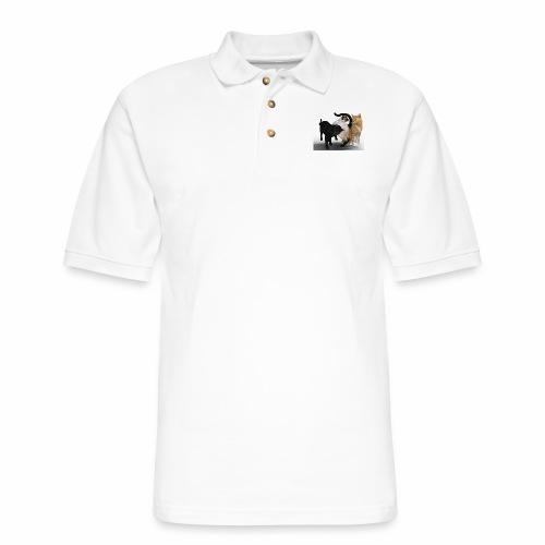 Do You Like Pet/Cat? - Men's Pique Polo Shirt