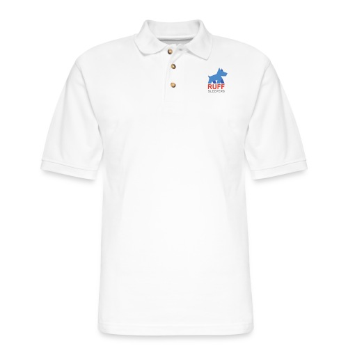 ruffsleepers logo 01 - Men's Pique Polo Shirt