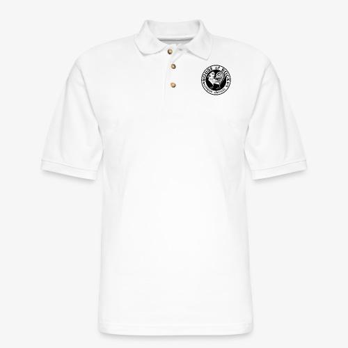 House of Rock round logo - Men's Pique Polo Shirt