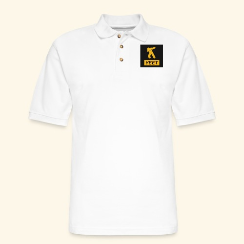 yeet- Meme Worthy Apparel - Men's Pique Polo Shirt