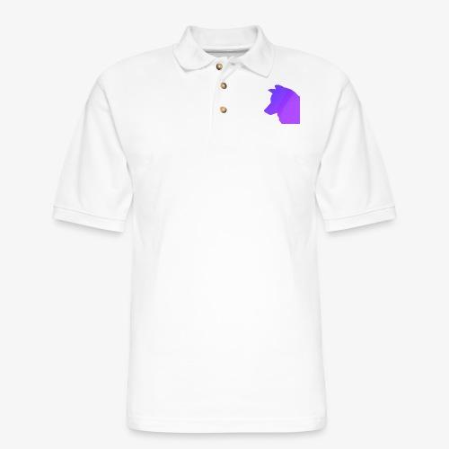 night wolf - Men's Pique Polo Shirt