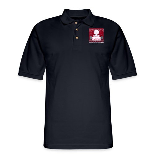 Ugly Christmas Sweater - Men's Pique Polo Shirt