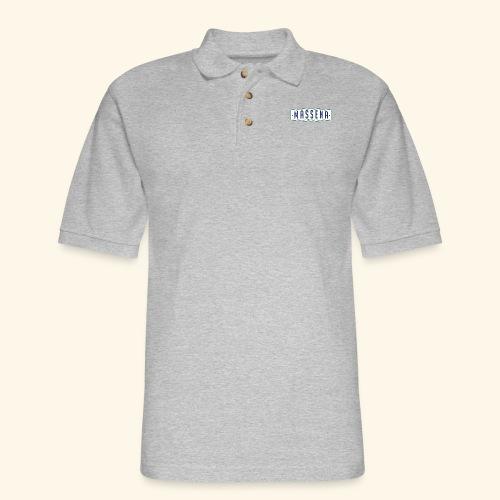 Massena Plate - Men's Pique Polo Shirt