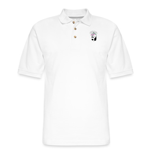 SpookyWab Logo - Men's Pique Polo Shirt