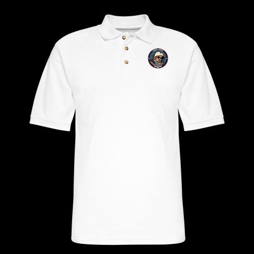 Spaceboy - Space Cadet Badge - Men's Pique Polo Shirt