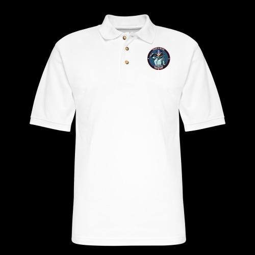 Surlana Badge - Men's Pique Polo Shirt