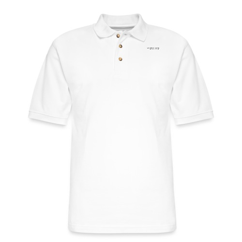 Sensitive is not the same thing as being weak. - Men's Pique Polo Shirt