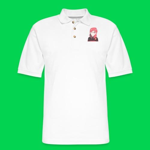Mei does an OwO - Men's Pique Polo Shirt