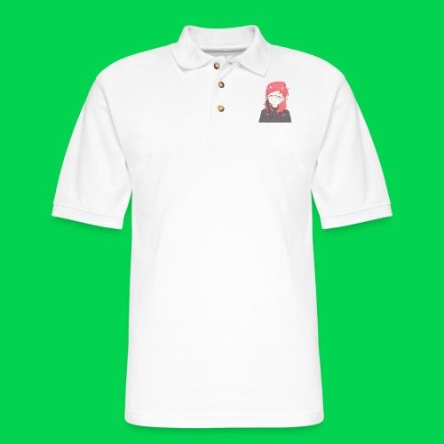Mei awoooo - Men's Pique Polo Shirt