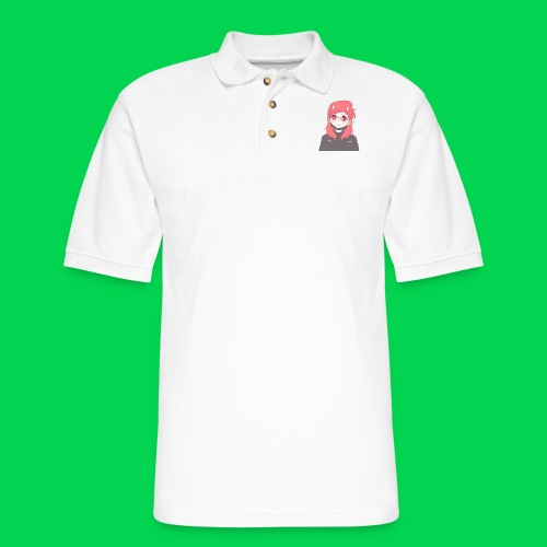 Mei is sorry! - Men's Pique Polo Shirt