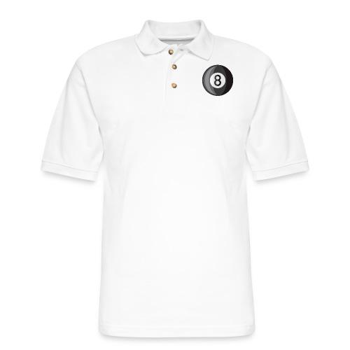 8 Ball - Men's Pique Polo Shirt
