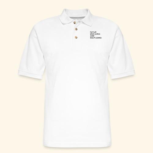 GET UP - Men's Pique Polo Shirt