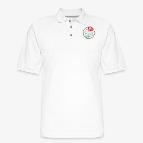 Official Jaydethaniel channel logo - Men's Pique Polo Shirt